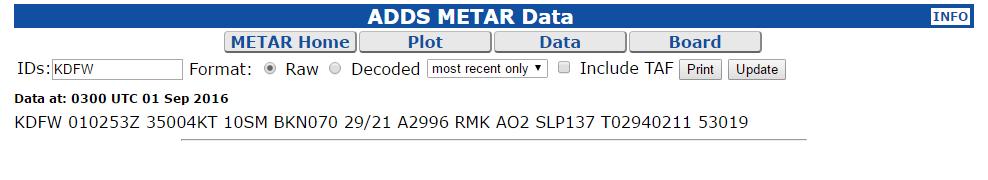 adds metar