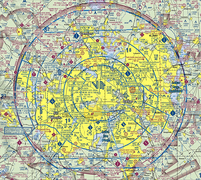 class b airspace VFR